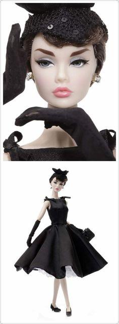 "Poppy Parker as Audrey Hepburn in ""Sabrina"""