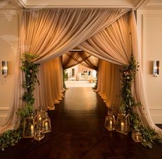 20 Creative Wedding Entrance Walkway Decor Ideas | Romantic Weddings ...