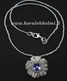Flower pendant inspired by Kerrie Slade