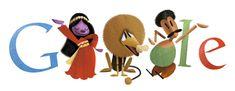 anniversary of the birth of Salah Jahin Google Anniversary, Google Africa, Doodle Google, Doodle Designs, Art Google, Doodle Art, Happy Holidays, Dinosaur Stuffed Animal, Artsy