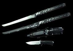 jinroh catana and combat knife,  Go To www.likegossip.com to get more Gossip News!