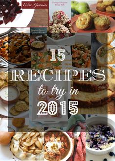 Casual Claire: 15 Recipes to Try in 2015