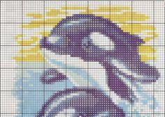 схемы вышивки крестом дельфины: 25 тыс изображений найдено в Яндекс.Картинках