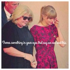 Pray for Mama Swift. She has cancer. ♡