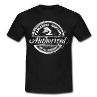 Tee shirts ~ Tee shirt standard Homme ~ Tampon Yamadori Hunting Authorized