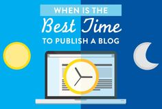 When Is The Best Time To Publish A Blog Post? #blogging