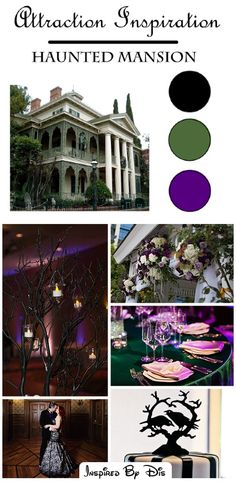 Attraction Inspiration - Haunted Mansion