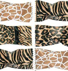 Small Gift Bag Ladies Girls Jungle Exotic Tropical Animal Print Occasion Mini