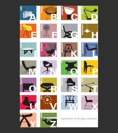 i love design. and frank gehry.  Mid-century modern chairs - Blue Art Studio