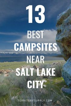 From the shores of the Great Salt Lake to the forests of the Wasatch Range, there's tons of great camping near Salt Lake City, Utah. We've shared our favorite campsites in the heart of Utah. Utah Camping, Lake Camping, Camping Spots, Heber Utah, Heber City, Utah Vacation, Best Places To Camp, Best Campgrounds, Salt Lake City Utah