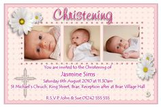 freeonlinebaptisminvitationcardmaker baptism invitations