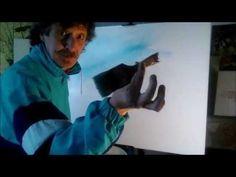 J.Díaz- Como pintar un cuadro rápido y fácil. 5ª entrega - YouTube