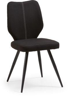 Nati stoel zwart / zwart - LaForma