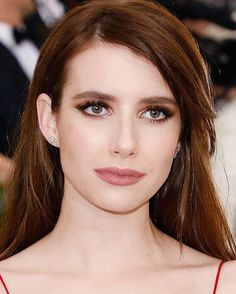 Her beauty fair complexion is always undeniable. Emma's bronzed smokey eye is a classic but extra pigment shades make it feel just dressed up enough for the occasion. #marieclaireindonesia #marieclairebeauty #beauty #makeup #metgala2017 #emmaroberts #redcarpet  via MARIE CLAIRE INDONESIA MAGAZINE OFFICIAL INSTAGRAM - Celebrity  Fashion  Haute Couture  Advertising  Culture  Beauty  Editorial Photography  Magazine Covers  Supermodels  Runway Models