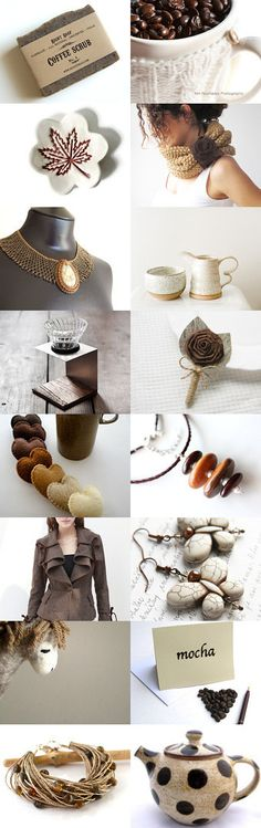 Cafe Au Lait by Marukasa on Etsy