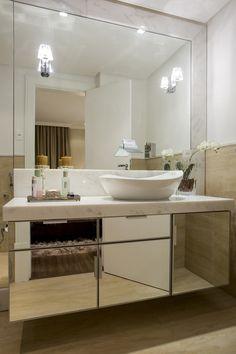 Espelhos antiembaçantes em banheiros! Veja ambientes, preços, onde comprar e muito mais! - DecorSalteado
