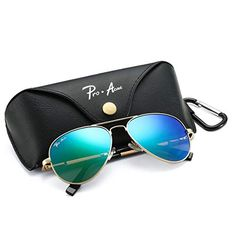de5d033182 Discounted Pro Acme Polarized Aviator Sunglasses for Men and Women 100% UV  Protection