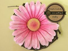 Quilling Flowers, Quilling Patterns, Flower Tutorial, Step By Step Instructions, Daisies, Paper Art, Inspire, Watch, Link