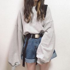 ideas with headbands hairstyle ideas hairstyle ideas ideas over 40 ideas for school hairstyle ideas easy hairstyle ideas ideas black Teen Fashion Outfits, Edgy Outfits, Korean Outfits, Retro Outfits, Cute Casual Outfits, Korean Girl Fashion, Korean Street Fashion, Ulzzang Fashion, Korea Fashion