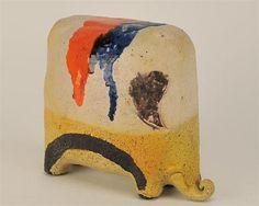 1960s Italian Elephant Figurine by Gli Etruschi.