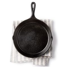 How To Season a Cast-iron Skillet - any good southern cook should already know this, but just in case you don't .....
