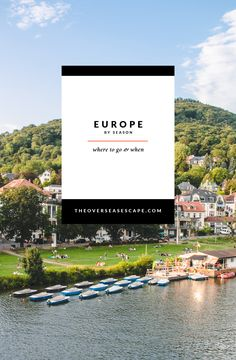 Europe By Season - Where to go and When