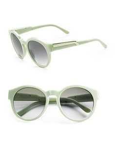 bb32719a15 These Stella McCartney sunnies are the perfect color i love sea foam green