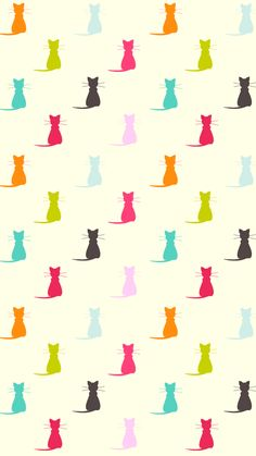 Cats Wallpaper Iphone Pattern Kitty 69 Ideas For 2019 Kitty Wallpaper, Pattern Wallpaper, Wallpaper Backgrounds, Iphone Wallpaper, Phone Backgrounds, Animal Wallpaper, Disney Wallpaper, Wallpaper Quotes, Cat Pattern