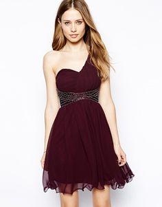 AX Paris One Strap Embellished Dress