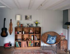 Shelving -- Andrew & Rebecca's Modern Vintage Country Home House Tour   Apartment Therapy