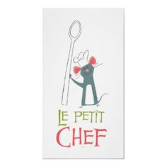Ratatouille Remy vintage standing with spoon poster Ratatouille Disney, Disney Home, Disney Art, Disney Pixar, Disney Fantasy, Joey Chou, Disney Canvas Art, Disney Paintings, Disney Kitchen
