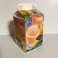 エルビー つぶつぶピンクグレープフルーツ&レモン - 500ml紙パック飲料記録帳