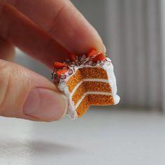 Carrot almond cake tutorial (mini style)