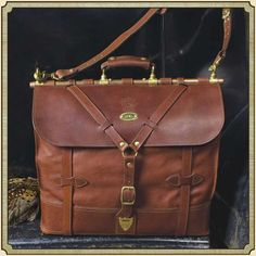 Leather Luggage Travel Bag Grip No. 4 | Best USA Made | Col Littleton