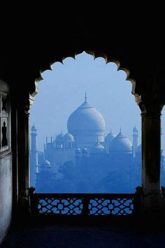 India- This is probably the best view you could get of the Taj from the Red Fort