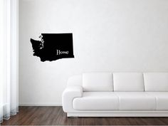 Washington State, Washington Decal, States, United States, State Decal, Vinyl, Adhesive Vinyl, Removable Vinyl, Matte Vinyl, Decals, Decal by wildoakvinyl on Etsy
