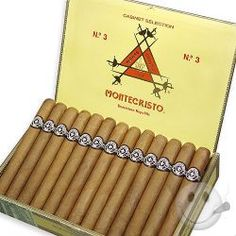 Montecristo Cigars - No. 2 Torpedo #cigars #cigaraccessories