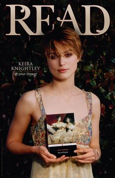 Keira Knightley @Malinda White Ennis L librart