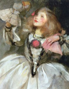 The Doll (also known as Kitty in Fancy Dress) Sir James Jebusa Shannon