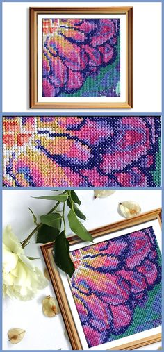 The perfect modern cross stitch pattern for beginners!