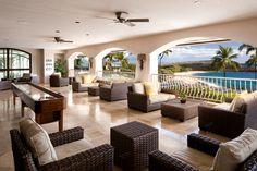 The Sports Bar at Four Seasons Lanai at Manele Bay has a fresh look
