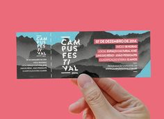 Campus Festival on Behance