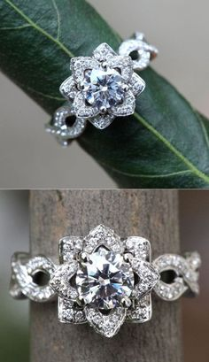 The most widespread of engagement customs is the groom providing his bride-to-be to be with a ring. Many often, the engagement ring is a diamond ring. However, diamonds are not the only jewels utilized in engagement rings. Wedding Engagement, Diamond Engagement Rings, Solitaire Diamond, Solitaire Rings, Band Rings, Lotus Flower Engagement Ring, Engagement Rings Unique, Unique Wedding Rings, Wedding Band