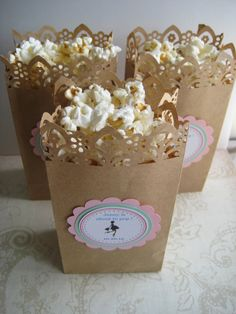 popcorn boxes baby shower it 39 s a girl by poshboxcouture on etsy 23