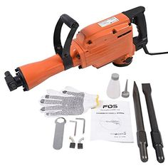 Special Offers - Goplus 2200 Watt Electric Demolition Jack Hammer Concrete Breaker Punch Chisel Bit Hd - In stock & Free Shipping. You can save more money! Check It (October 12 2016 at 11:20PM) >> http://hammerdrillusa.net/goplus-2200-watt-electric-demolition-jack-hammer-concrete-breaker-punch-chisel-bit-hd/