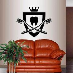 Dental Office Decor, Dental Office Design, Office Lamp, Wall Stickers Murals, Vinyl Wall Decals, Vinyl Art, Dentist Logo, Dentist Jokes, Dentist Clinic