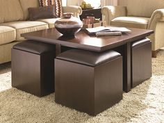 Ottoman coffee table is such a unique coffee table because it has soft surface. Unlike other coffe table which usually has hard surface, the ottoman Coffee Table With Seating, Square Ottoman Coffee Table, Leather Ottoman Coffee Table, Storage Ottoman Coffee Table, Coffee Table Pictures, Square Storage Ottoman, Coffee Table Furniture, Ottoman Table, Cool Coffee Tables