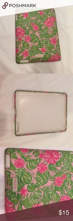 Lilly Pulitzer 3rd generation IPad case Lilly Pulitzer IPad case  - 3rd generation - great condition - used a few times Accessories Laptop Cases