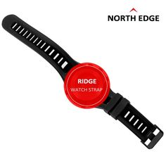 NORTH EDGE Brand Watches Band High Quality Waterproof Watch Strap Outdoor Sports Wristwatch Bracelets #Affiliate