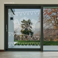 Is your street filled with orange flags on 27 april? Then decorate your window with this fun #windowdrawing, orange above! #raamtekening #koningsdag